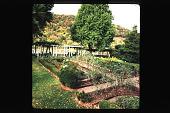 view [Kanawha Salines]: pergola and parterre garden. digital asset: [Kanawha Salines]: pergola and parterre garden.: 1994 Sep.