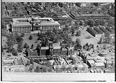 view Aerial View of Smithsonian Institution Building and Natural History Building digital asset number 1