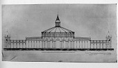view Preliminary Plans by Adolf Cluss & Frederick Daniel for Proposed U.S. National Museum digital asset number 1