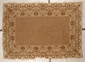 view Jacquard carpet or coverlet; 1875-1914; possibly New York or Europe digital asset number 1