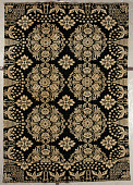 view coverlet; Figured and Fancy, double-cloth; 1825; New York digital asset number 1
