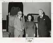 view Senator Barry Goldwater, Representative Lindy Boggs, and Secretary S. Dillon Ripley digital asset number 1