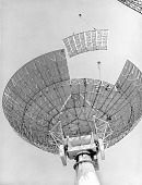 view Constructing 84-foot Radio Telescope digital asset number 1