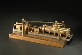 view Model, Horizontal Steam Steering Engine, late 19th century digital asset number 1