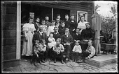 view Hussey Family Group digital asset: Positive image from a glass plate negative by Walter J. Hussey, Hussey Family Group