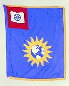 view Flag Designed for the National Museum of History and Technology, Smithson Bicentennial digital asset number 1