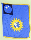 view Flag Designed for the Smithsonian Astrophysical Observatory, Smithson Bicentennial digital asset number 1