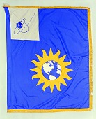 view Flag Designed for the National Air and Space Museum, Smithson Bicentennial digital asset number 1