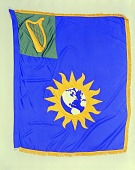 view Flag Designed for the Kennedy Center, Smithson Bicentennial digital asset number 1