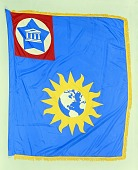 view Flag Designed for the National Museum, Smithson Bicentennial digital asset number 1