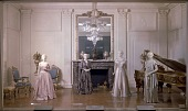 view White House East Room Exhibit in First Ladies Hall at the Arts and Industries Building digital asset number 1