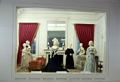 view White House Reception Room Exhibit in First Ladies Hall at the Arts and Industries Building (A&I) digital asset number 1