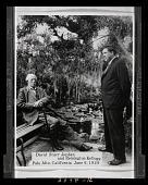 view Photograph of David Starr Jordan and Remington Kellogg, Palo Alto, California, 1929 digital asset number 1