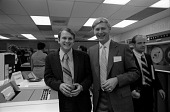 view Stan Kovy and Honeywell man at Dedication of Honeywell 2015 Computer digital asset number 1