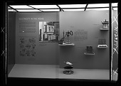 """view """"Electricity in the Home"""" Exhibit Case (Left Side) digital asset number 1"""