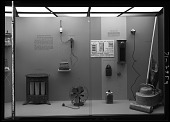"""view """"Electricity in the Home"""" Exhibit Case (Right Side) digital asset number 1"""