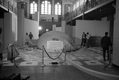 """view """"Ballooning: 1782-1972"""" Exhibit Set Up at A&I Building digital asset number 1"""