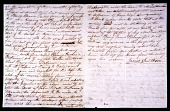 view Handwritten Draft of James Smithson's Will digital asset number 1