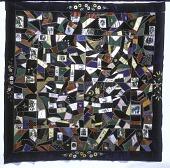 view 1870 - 1886 Margaret Tormey's Crazy-patched Quilt Top digital asset number 1