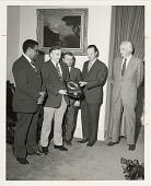 view Presentation of President's Safety Award for 1972 digital asset number 1