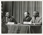 view Apollo 11 Astronauts at Press Conference for 5th Anniversary of Mission digital asset number 1