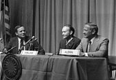 view Apollo 11 Astronauts at Press Conference digital asset number 1