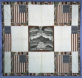 "view 1876 - 1878 Esther Cooley's ""1876 Centennial"" Quilt digital asset number 1"
