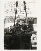 view Placement of Statue of Peter Paul Reubens at Renwick Gallery digital asset number 1
