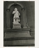 view Placement of Statue of Esteban Murillo at Renwick Gallery digital asset number 1