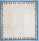 view 1800 - 1820 Block-printed Quilt digital asset: Block-printed Quilt