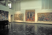 view Ramses Wissa Wassef Egyptian Tapestries Exhibition digital asset number 1