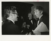 view NMHT Director Brooke Hindle with John Updike at Frank Nelson Doubleday Lecture Series digital asset number 1