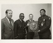 view Presentation of Dr. Martin Luther King Jr. Plaque to Captain John Gibson digital asset number 1