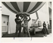 "view Installation of Balloon ""The America"" at National Air and Space Museum digital asset number 1"