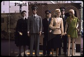 """view Interior Views of National Air and Space Museum Exhibits, """"Flight Uniforms"""" digital asset number 1"""