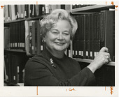 view Portrait of Catherine Scott, Librarian for National Air and Space Museum (NASM) digital asset number 1