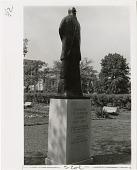 view Spencer Fullerton Baird Statue Located in the Victorian Garden digital asset number 1