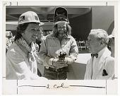 view Joan Mondale Greets Joseph Hirshhorn digital asset number 1