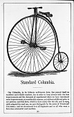 view 1881 Columbia Bicycle digital asset: Advertisement for Standard Columbia Bicycle