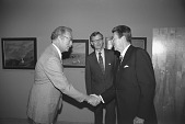 view President Reagan at the Catlin Exhibit, NMAA digital asset number 1