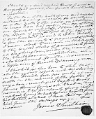 view Photocopy of page 3 of 3 of the original (final) handwritten, signed and sealed will of James Smithson digital asset number 1