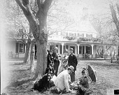 view Secretary Langley with Family and Friends digital asset number 1