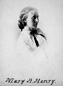 view Mary Anna Henry Is Born to Joseph and Harriet Henry digital asset number 1