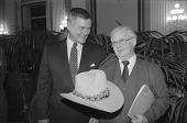 view Larry Hagman Gives Hat to NMAH digital asset number 1