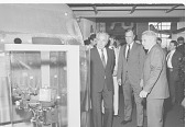 view Shimon Peres and George Bush at NASM digital asset number 1