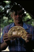 view Richard G. Cooke with Gold Breast Plate, Panama, STRI digital asset number 1