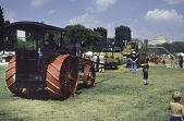 view Rumely Oil Pull Tractor, 20-40 digital asset: Threshing at Smithsonian Folk Festival 1991
