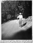 view Secretary Abbot Carrying the Radiometer up Mount Wilson digital asset number 1