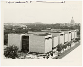 view Exterior View of National Air and Space Museum on Opening Day digital asset number 1