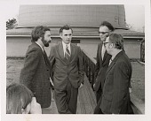 view SAO Scientists on Walkway of Harvard College Observatory's Fifteen Inch Reflector digital asset number 1